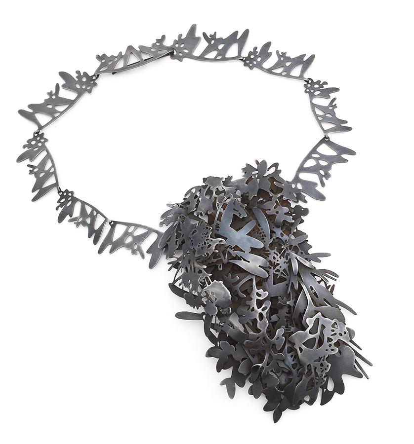 Helen Shirk   Weeds Necklace , 2018
