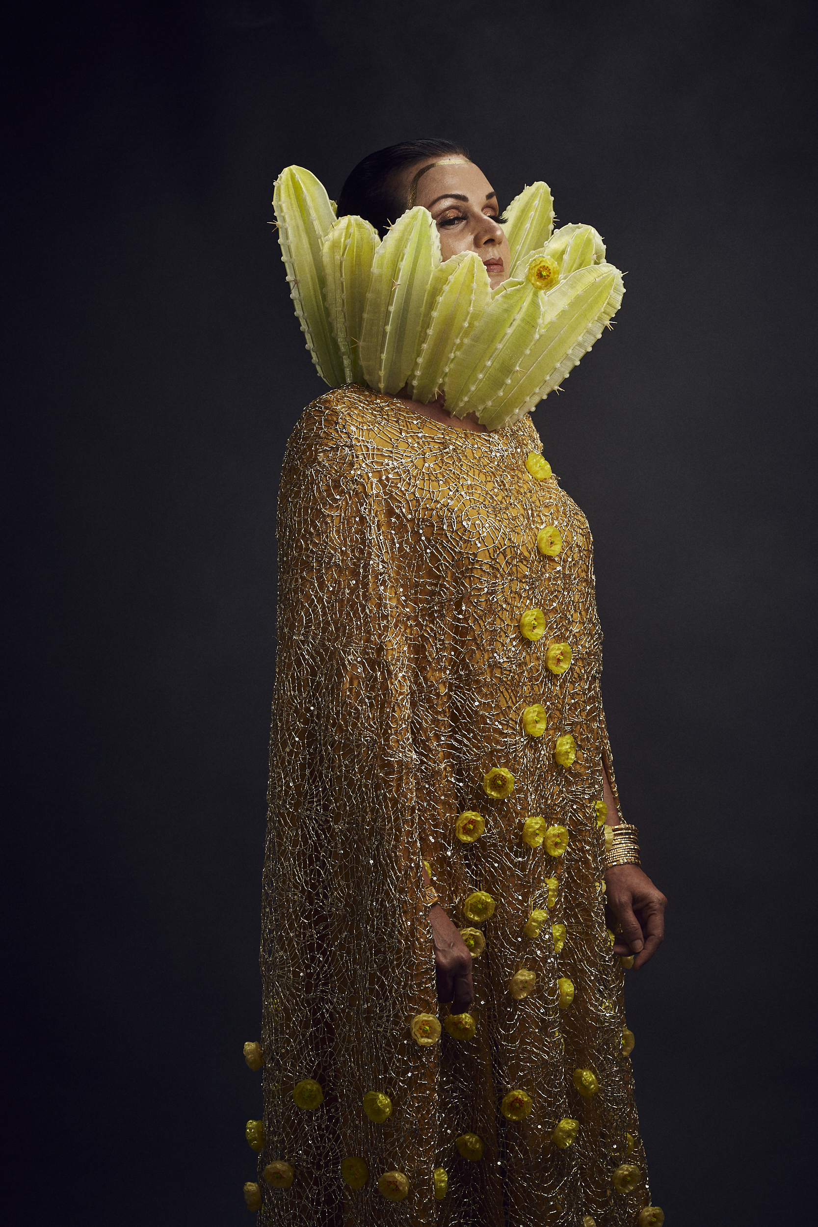 Erum Javed & Donna Sweigart    Golden Blossoms and Spines
