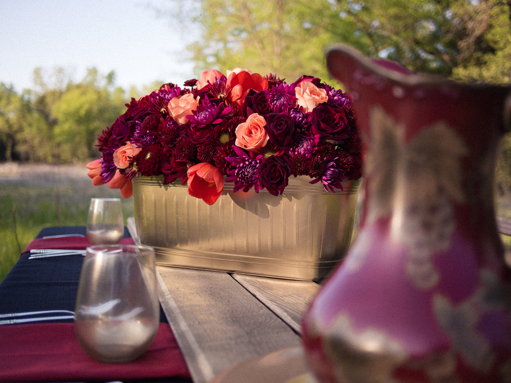 Redding Flowers: Fall Centerpiece