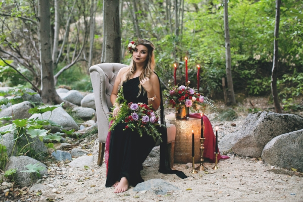 Redding CA Florist: Autumn Bride Bouquet