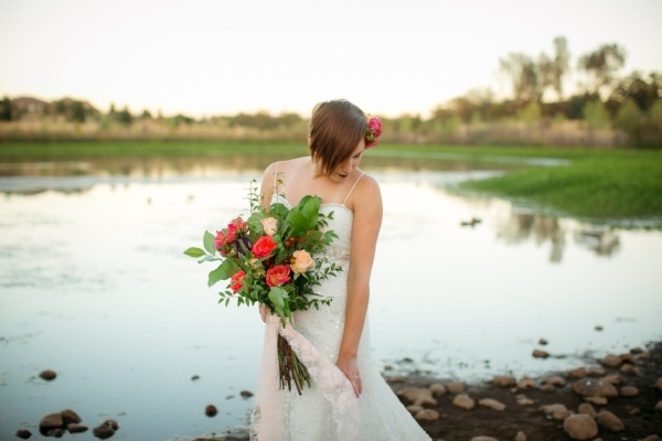 Gorgeous Fall Bridal Bouquet