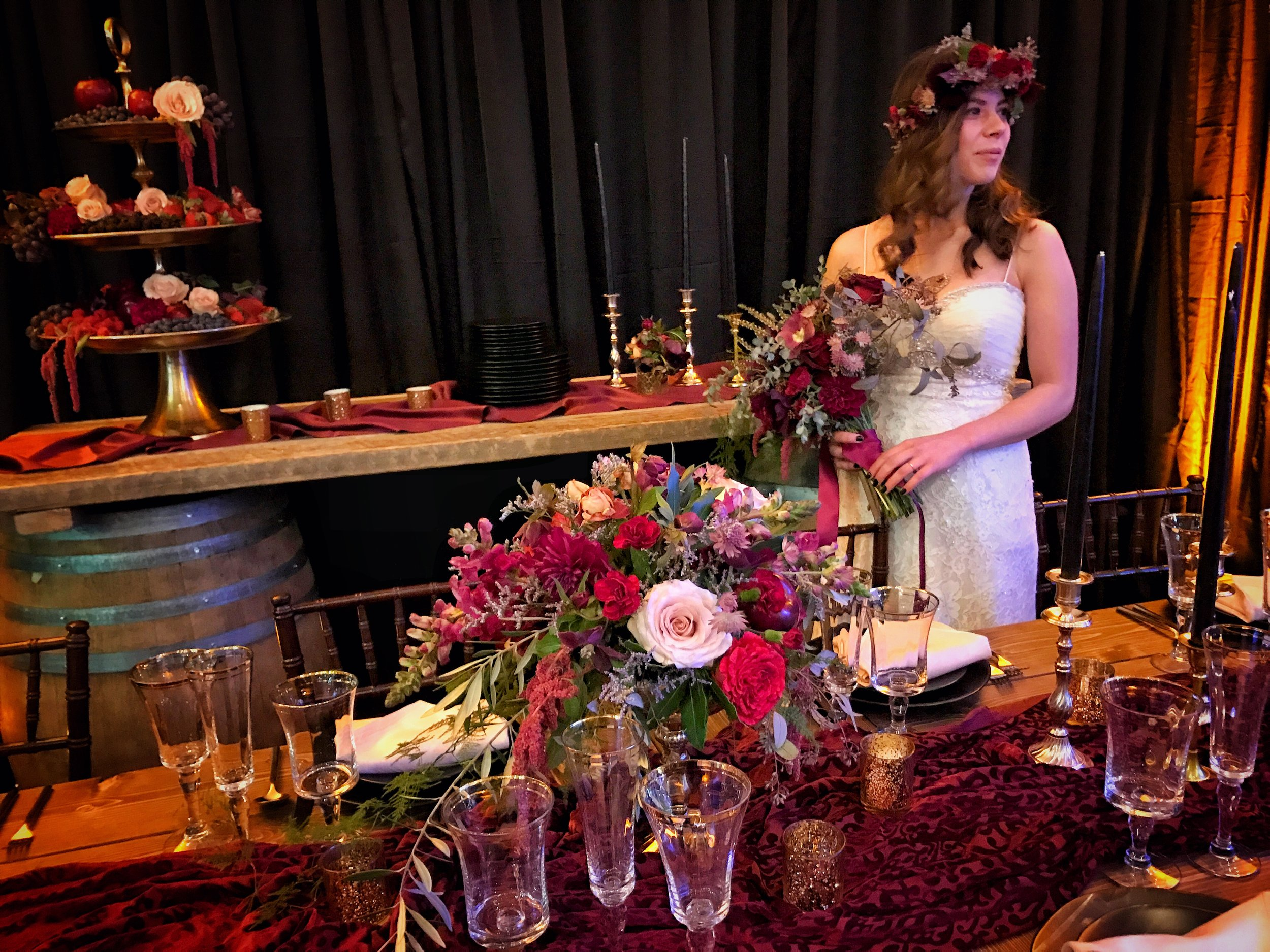 Redding CA Florist • Velours Floral Designs • Redding Bridal Show