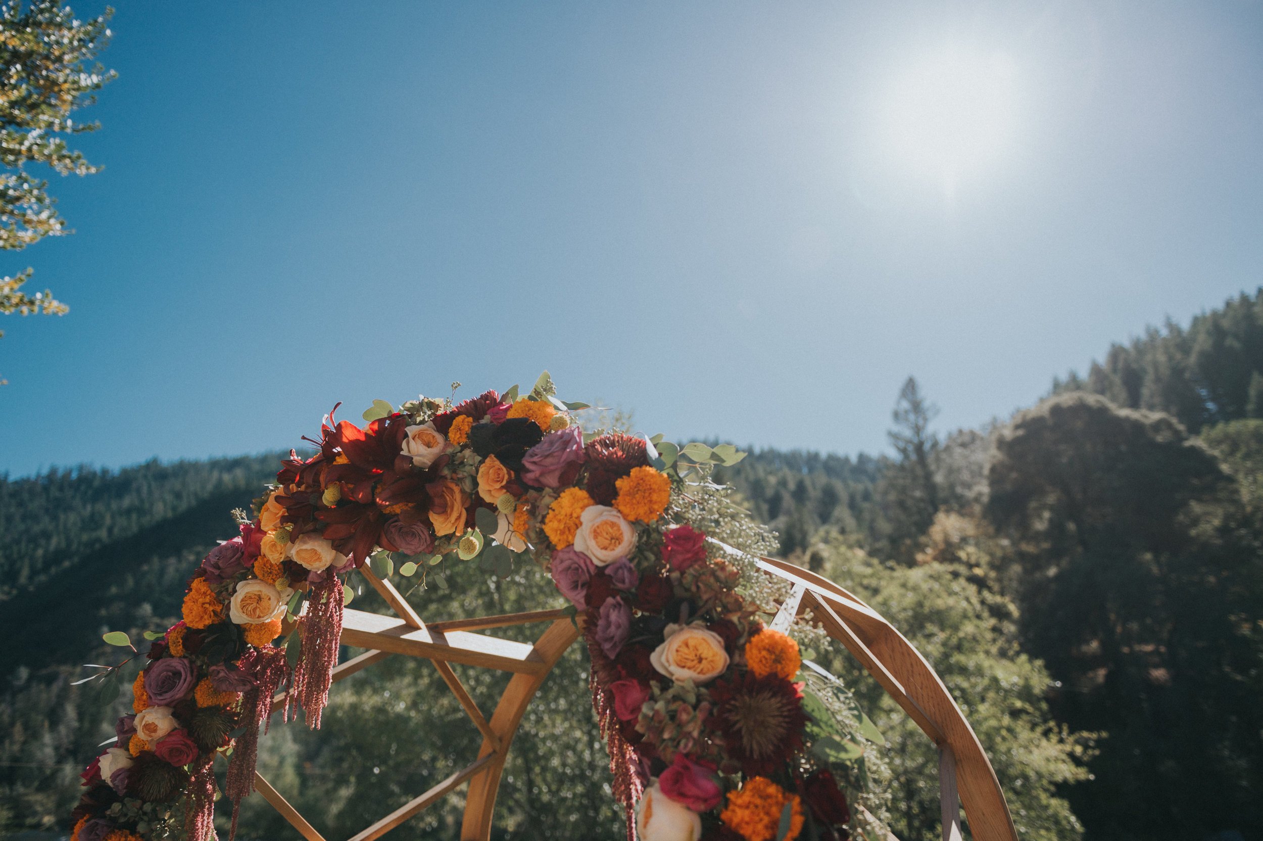 Día de Muertos Wedding | Velours Floral Design | Redding Ca
