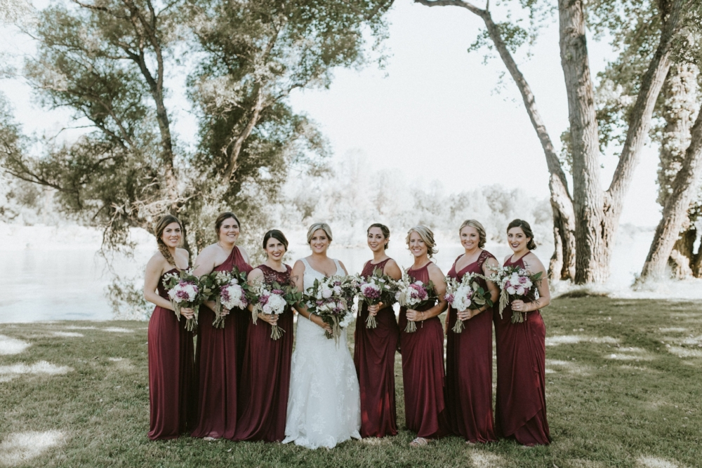 Sacramento River Wedding | Velours Designs