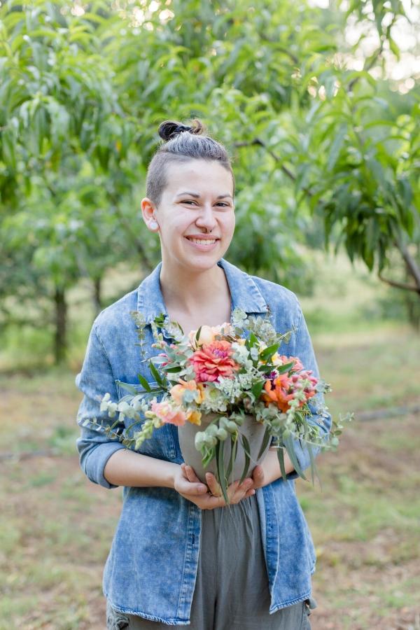 Velours Designs Orchard Picinic Flower Workshop