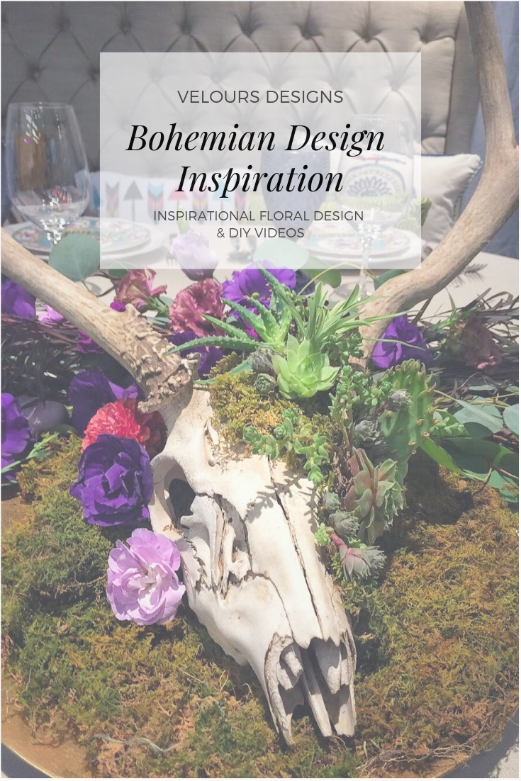 Bohemian Inspiration | Velours Floral Design | Redding Bridal Show