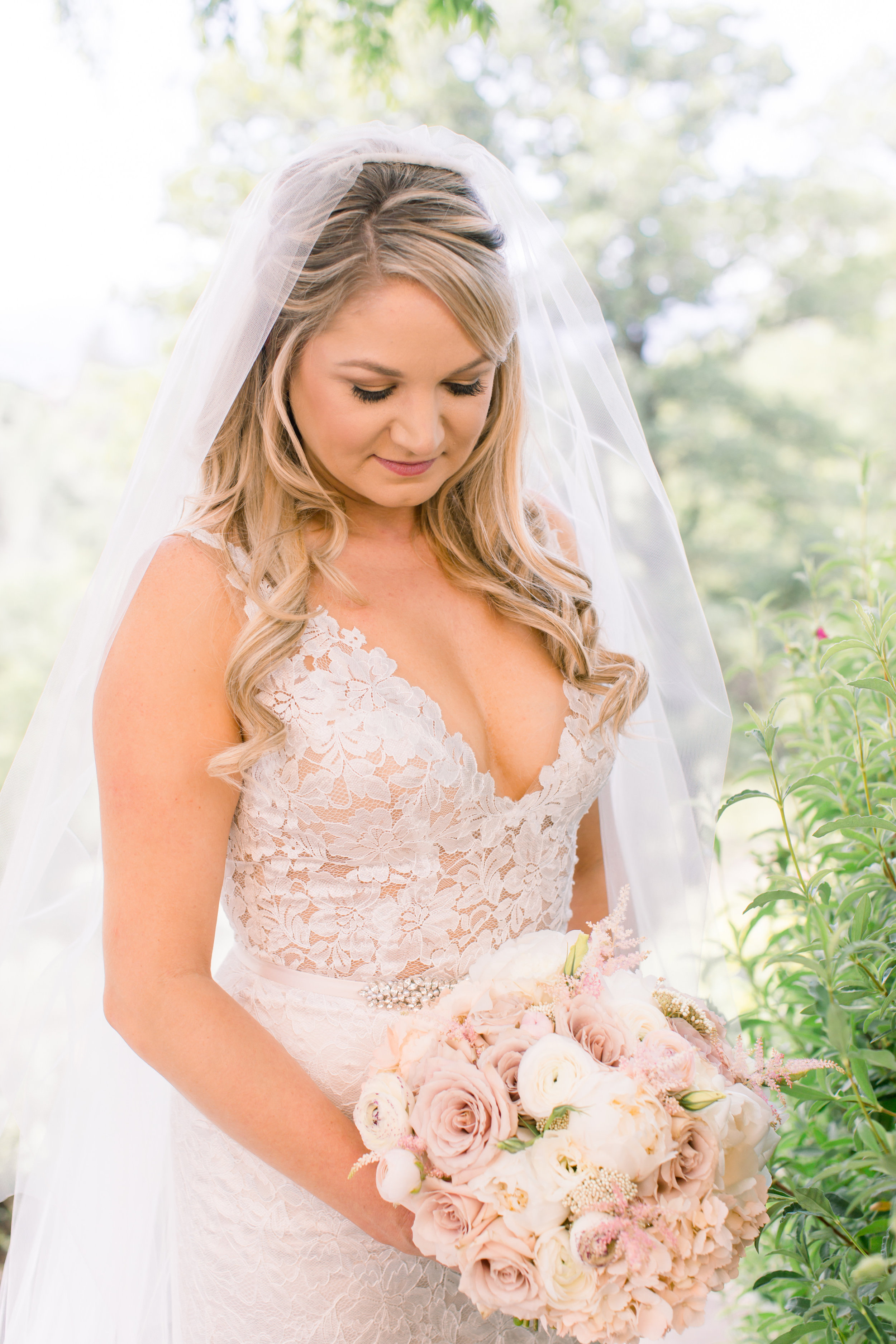 Spring Garden Wedding | Velours Designs
