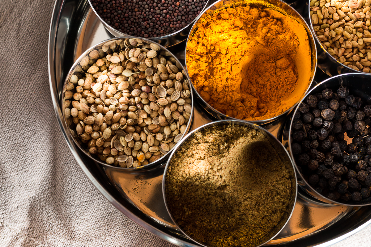 Spices for Curry Chicken Salad
