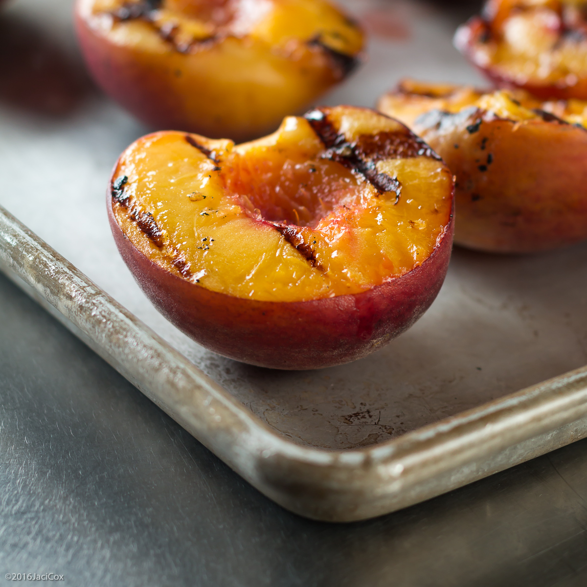 Last Days of Summer with Grilled Peaches