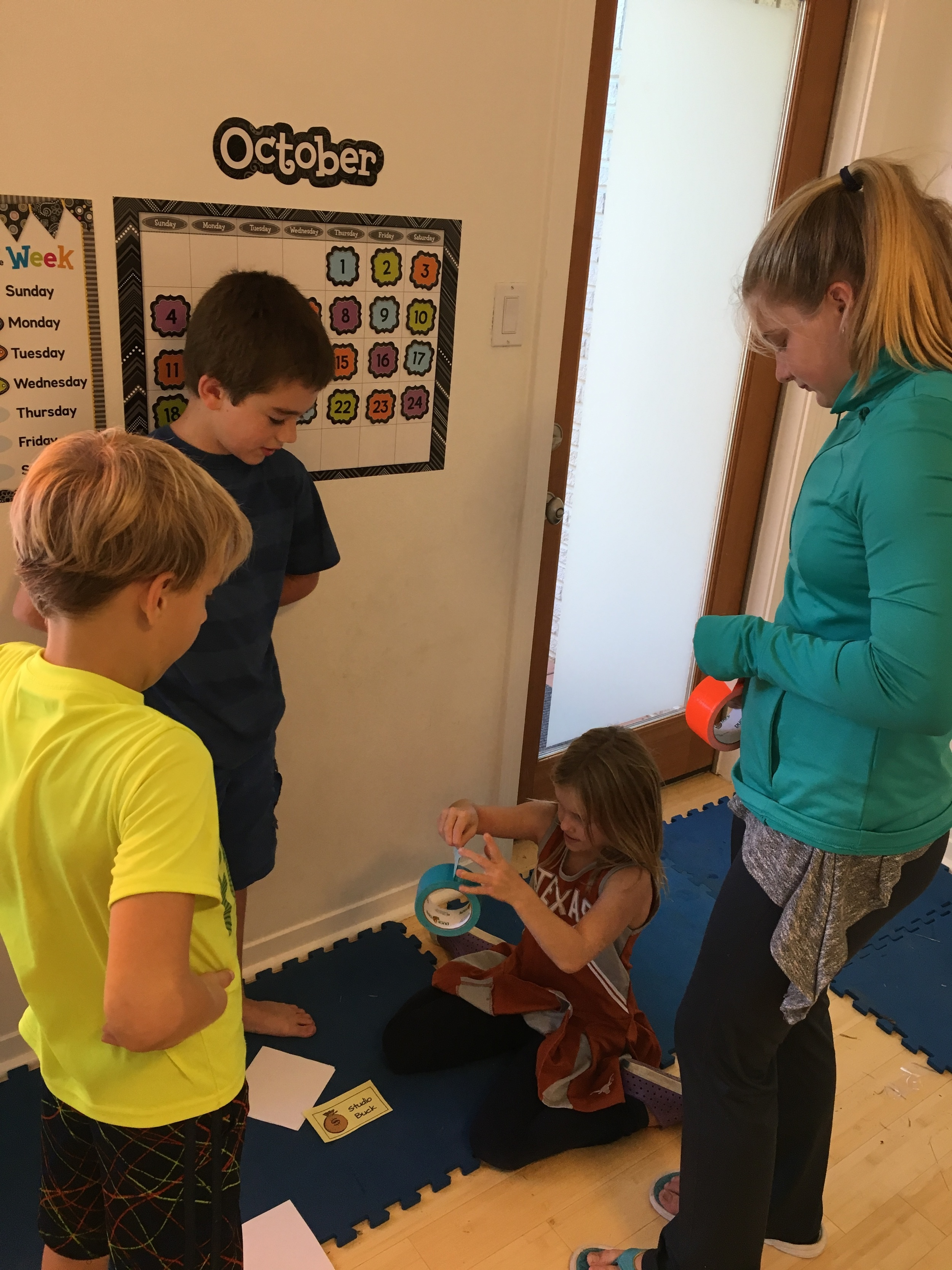 MAKING THEIR DUCT TAPE WALLETS TO COLLET PROFITS!