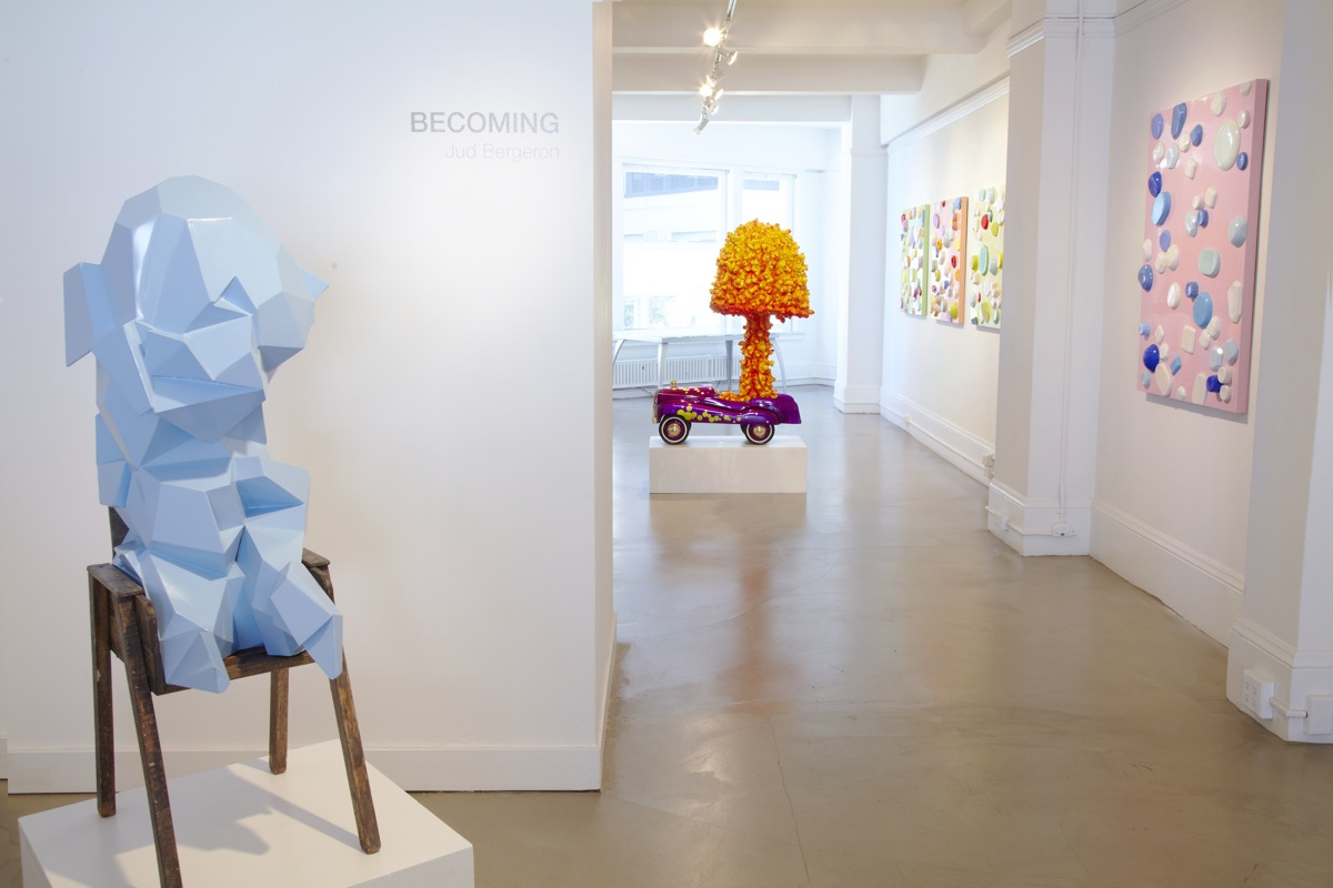 Gallery View of 'Becoming' at Mark Wolfe Contemporary