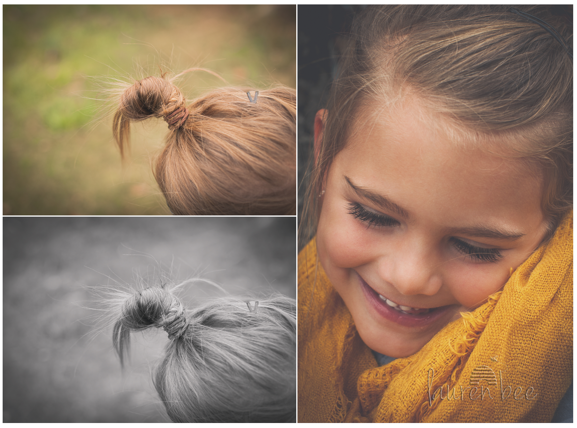 Would you just look at that adorable little top knot of perfection???
