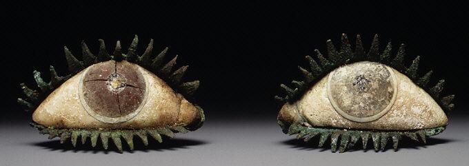 Pair of Eyes , Greek 5th Century BC, Bronze, the Met Museum, NY
