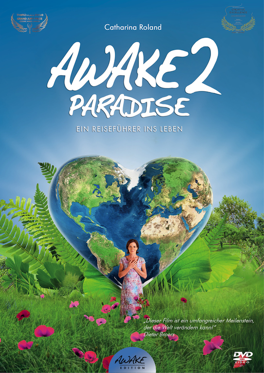 "DVD-Cover ""AWAKE2Paradise"""