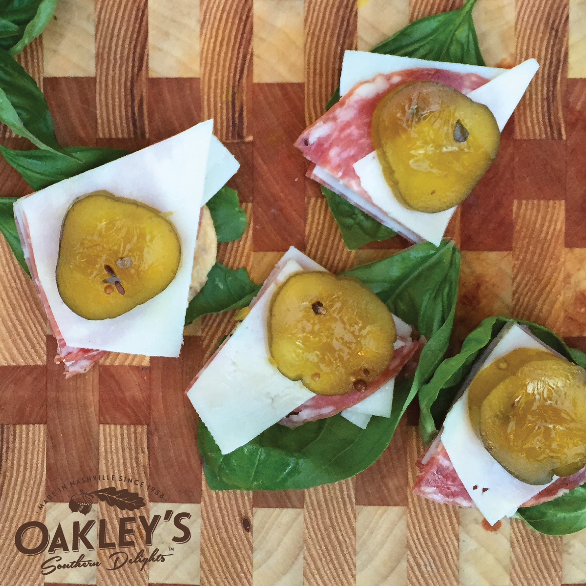 Easy to make appetizers from Oakley's Southern Delights