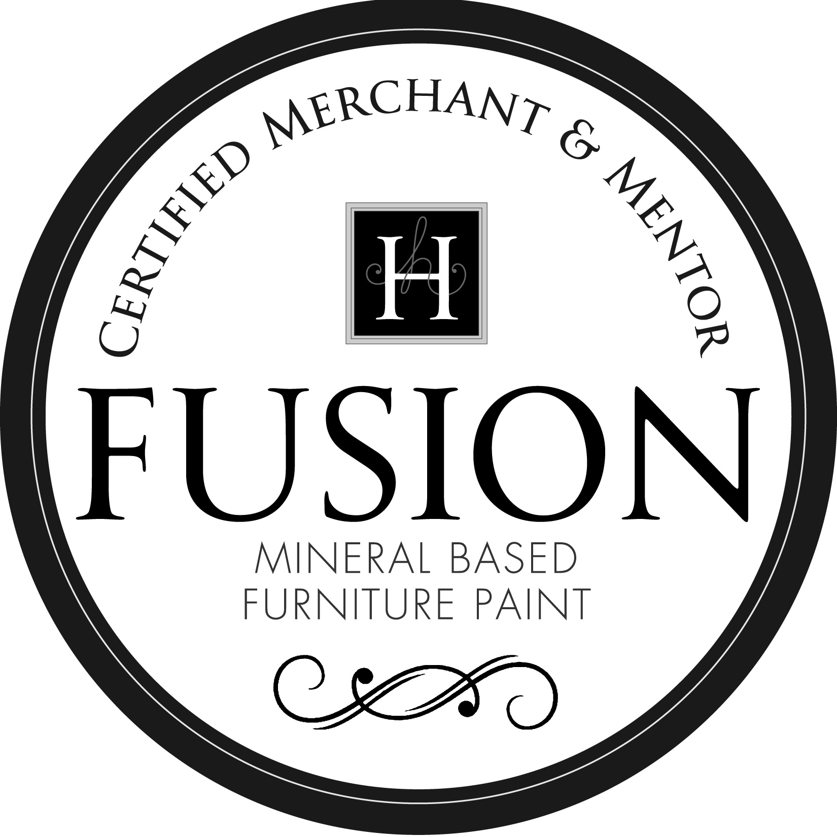 A Raven's Nest is a proud Merchant of Fusion Mineral Paint™