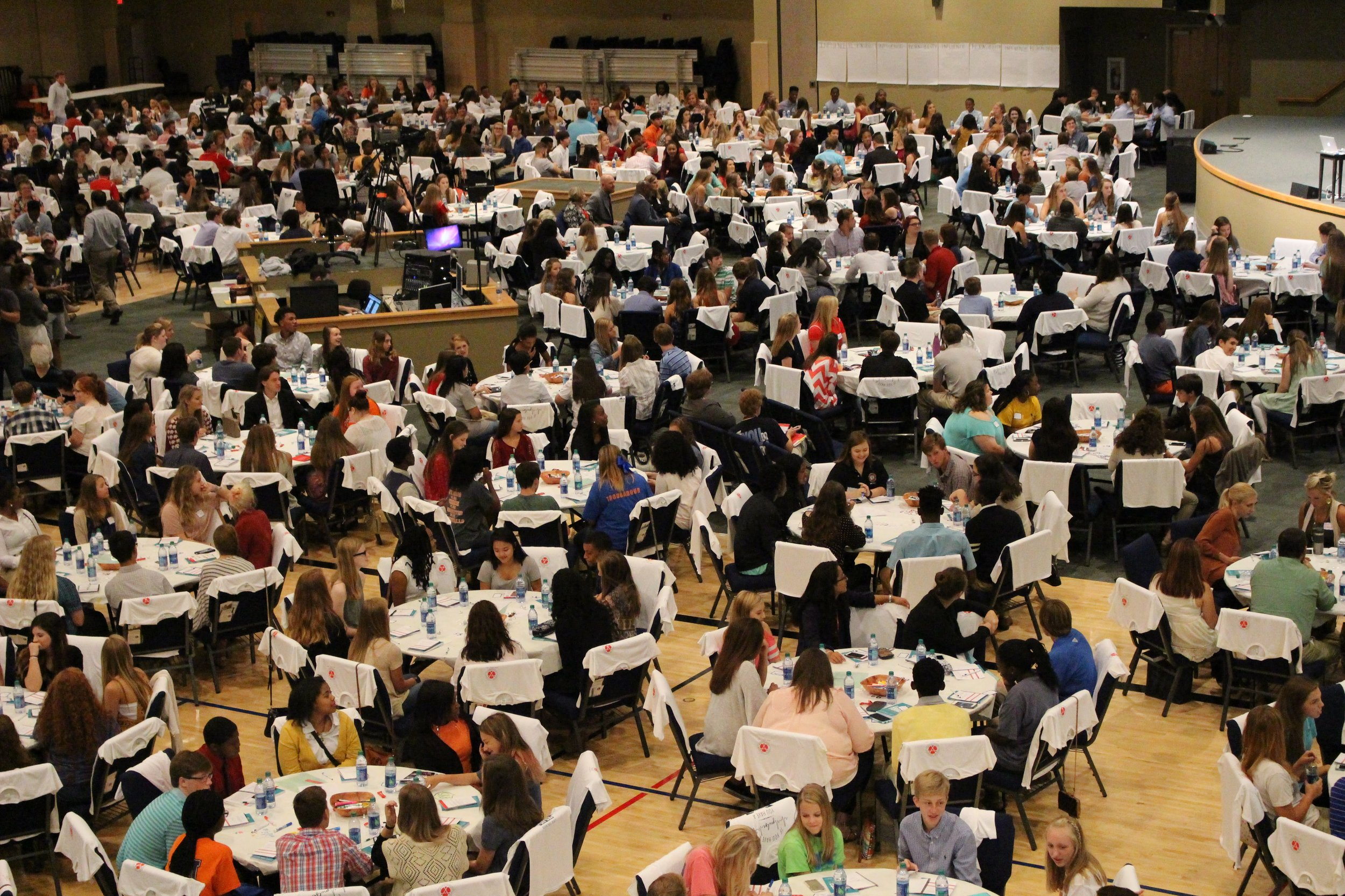 Over 450 students attended the 2017 Shelby County Student Leadership Conference.