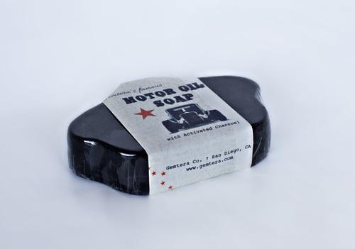 Motor Oil Soap Bar