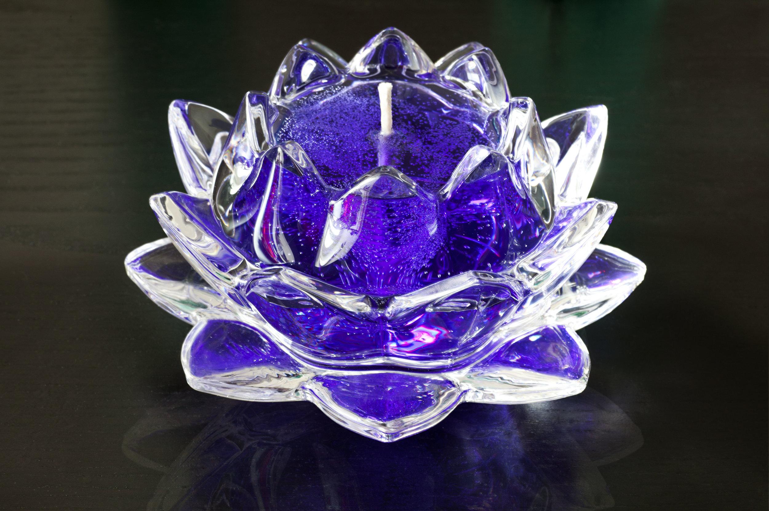 Lotus Gem Candle