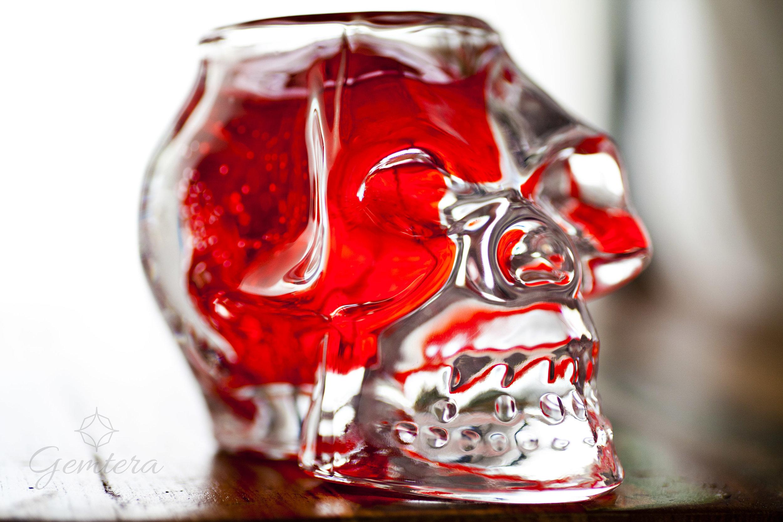 Skull Candle - Crystal Skull - Burn time: 50 hours