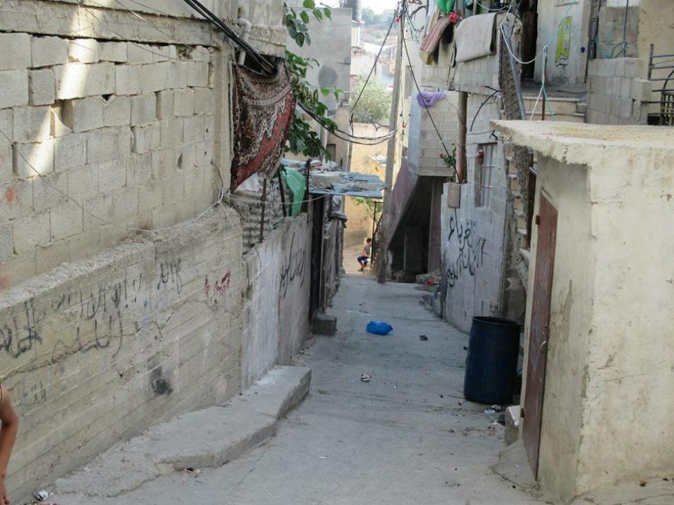 a residential street in fawar