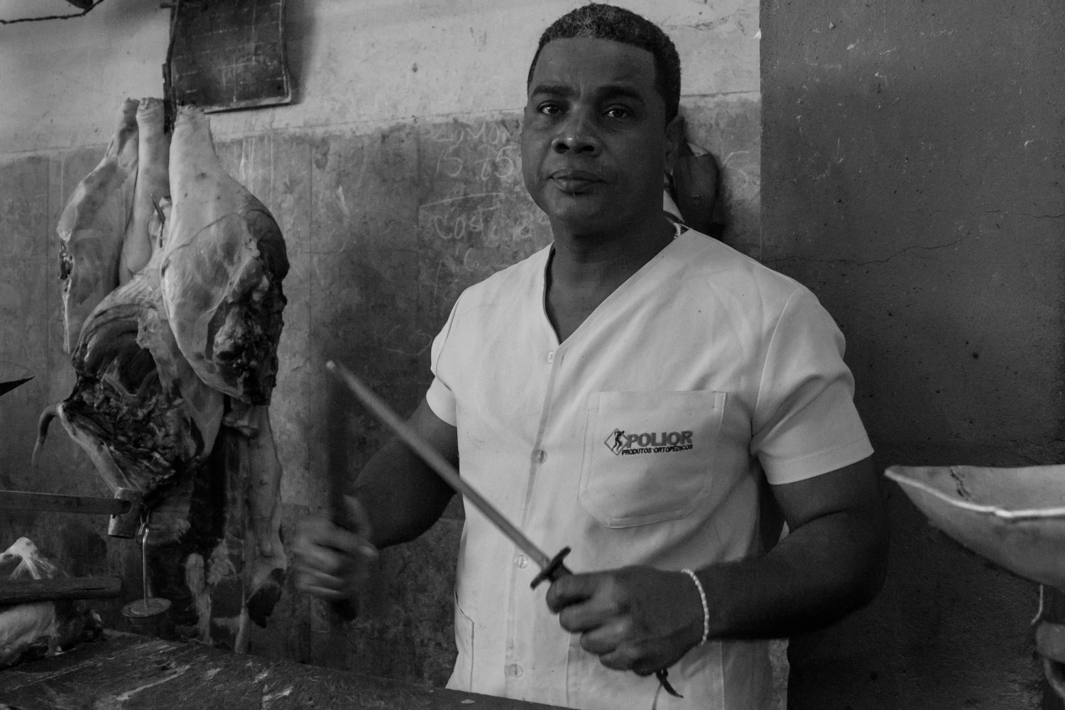 Butcher at the Market