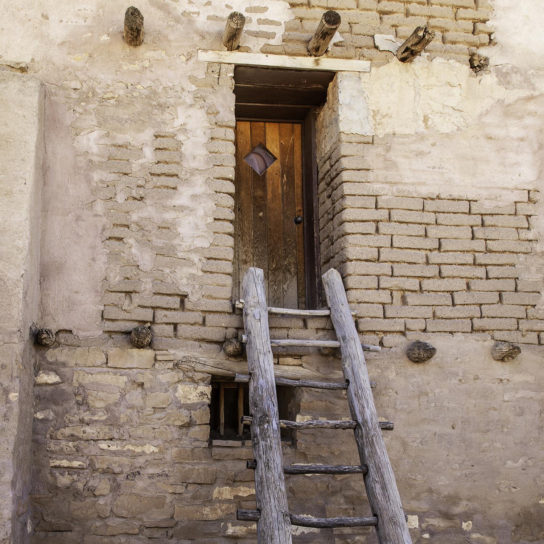 Pueblo Doorway - Acoma Pueblo, NM