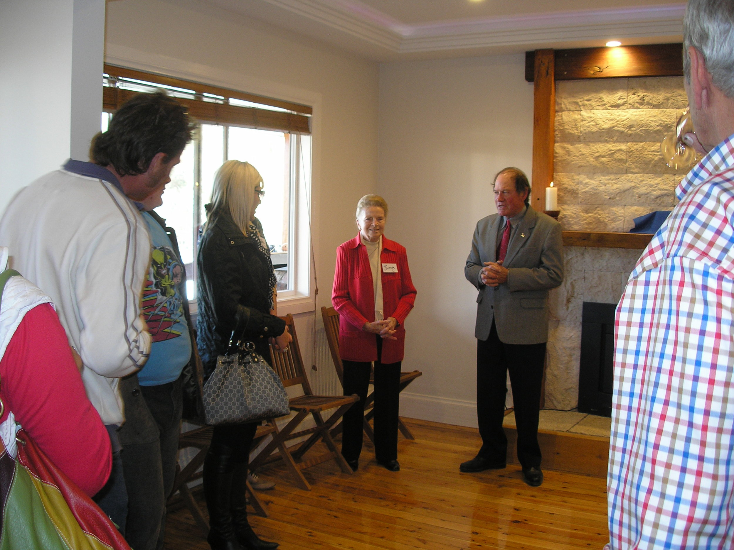 Nana Attends Cellar Door Opening Flyfaire Wines
