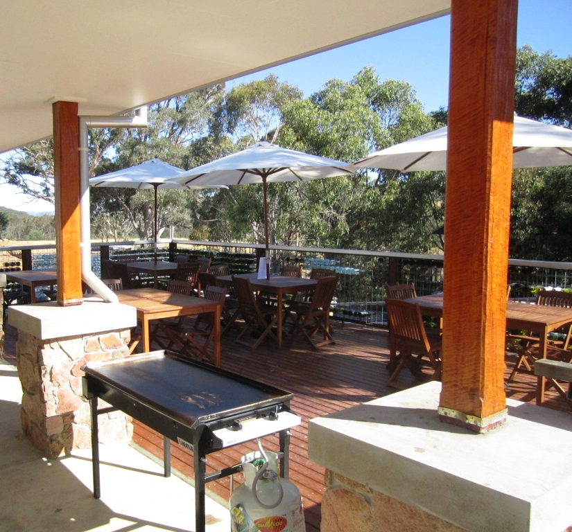 Our Fabulous Deck with the BBQ ready for Father's Day