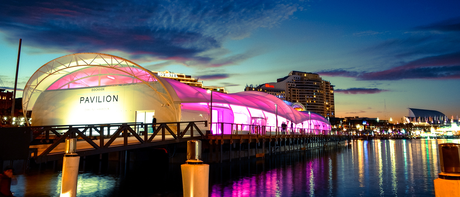Location of Gala Event at Darling Hobour, Sydney