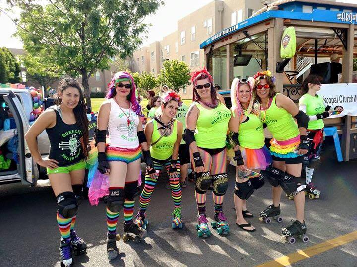 DCRD at Albuquerque Pride 2015. Photo by Brian Lockwood.
