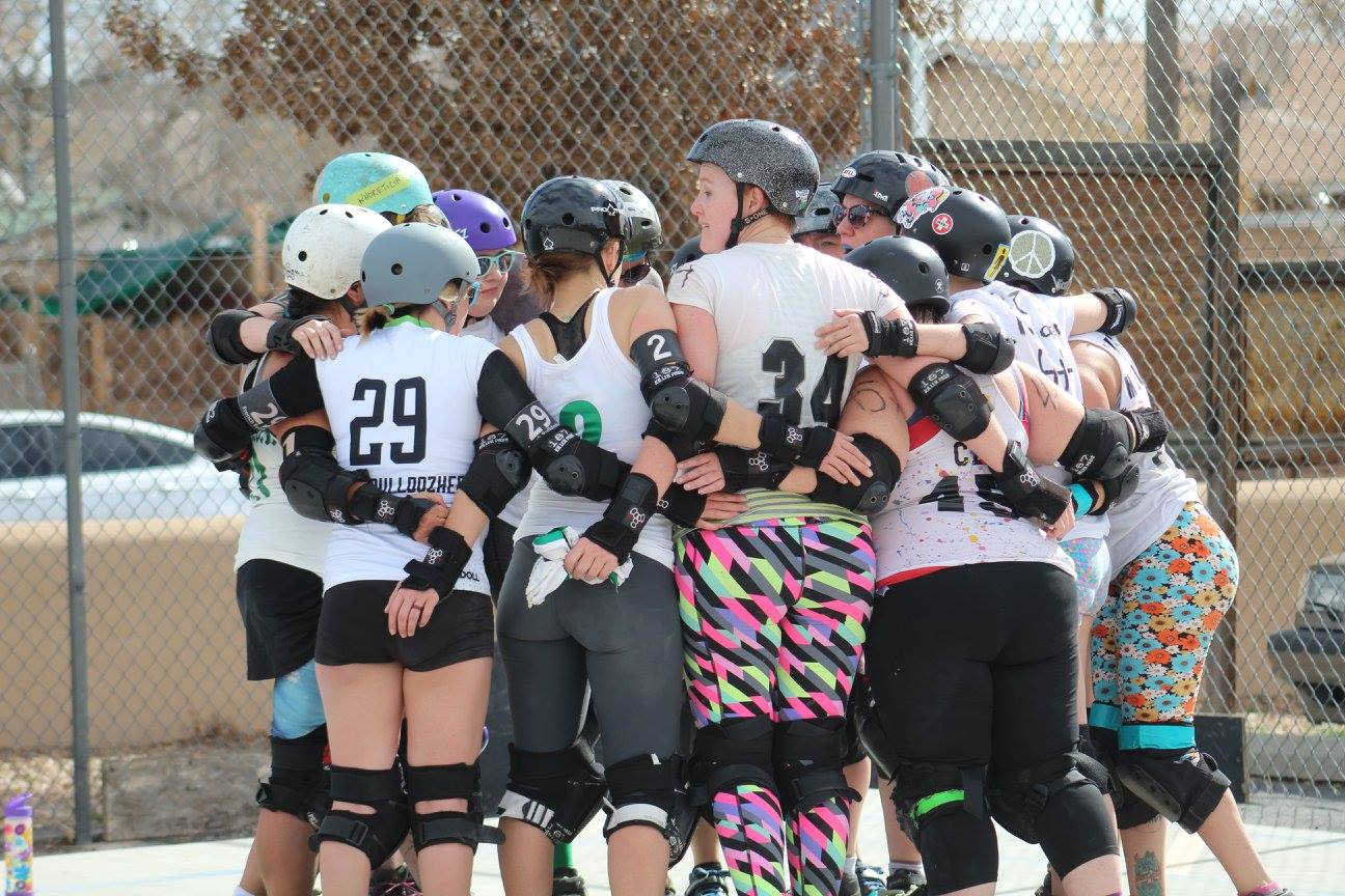 Team White: first scrimmage of the season. Photo: Amy V. Marks