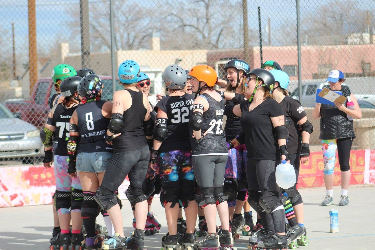 Team Black: first scrimmage of the season. Photo: Amy V. Marks