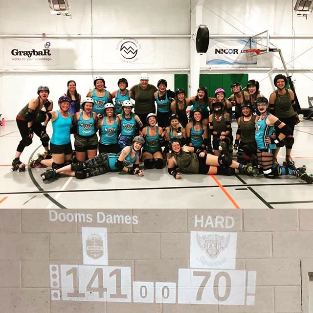 Thanks to all who came out to watch some derby yesterday!