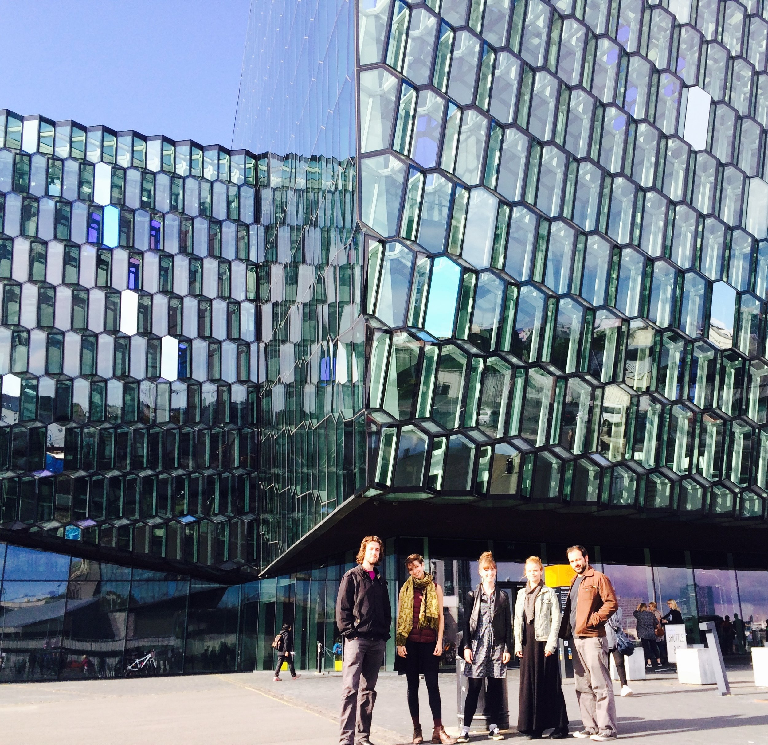 TAK at Harpa Concert hall in Reykjavík, Iceland as part of their Summer 2016 erraTAK tour
