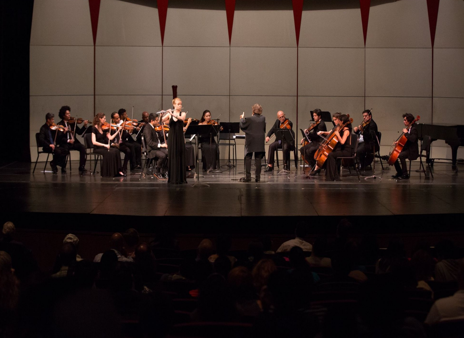Tania León conducting the Association of Dominican Classical Artists, performing works by Amy Beach