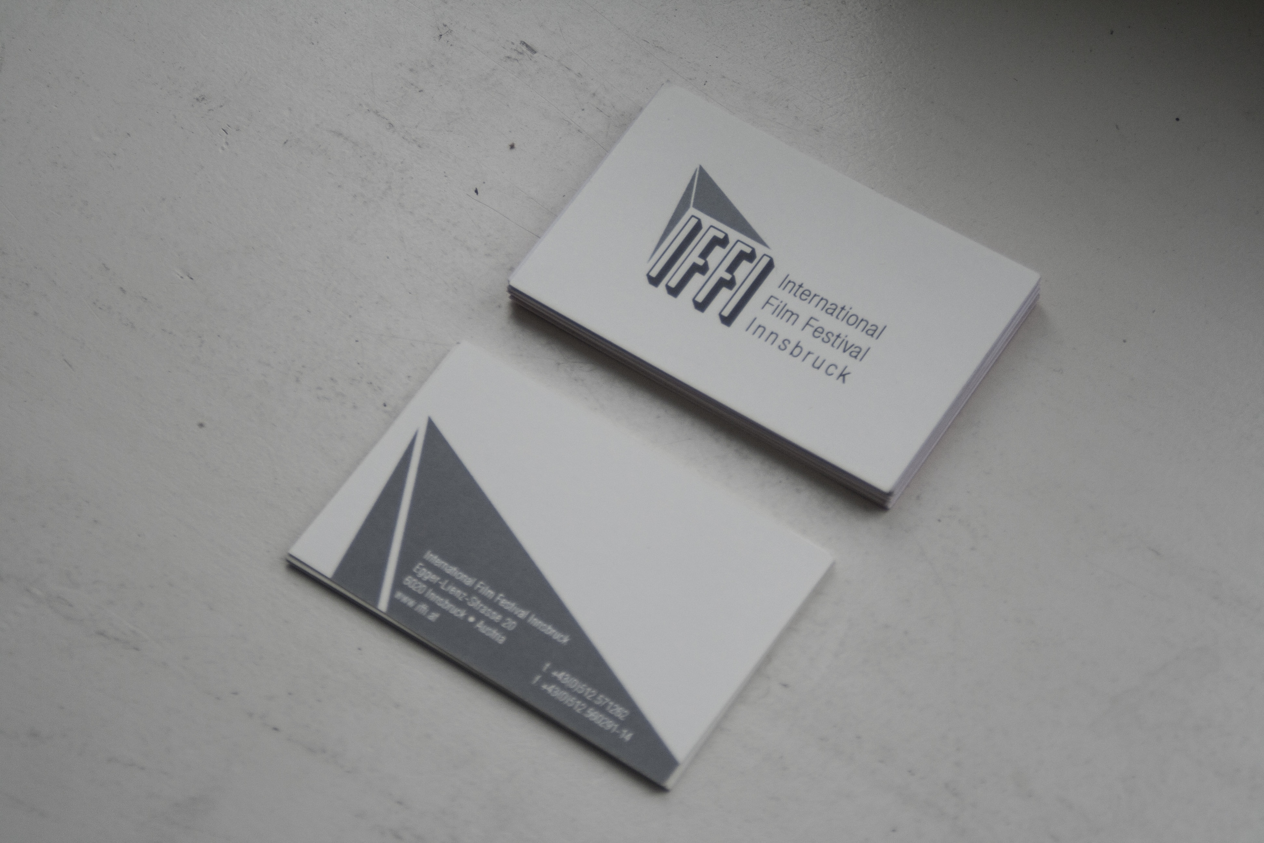 business cards (blank)