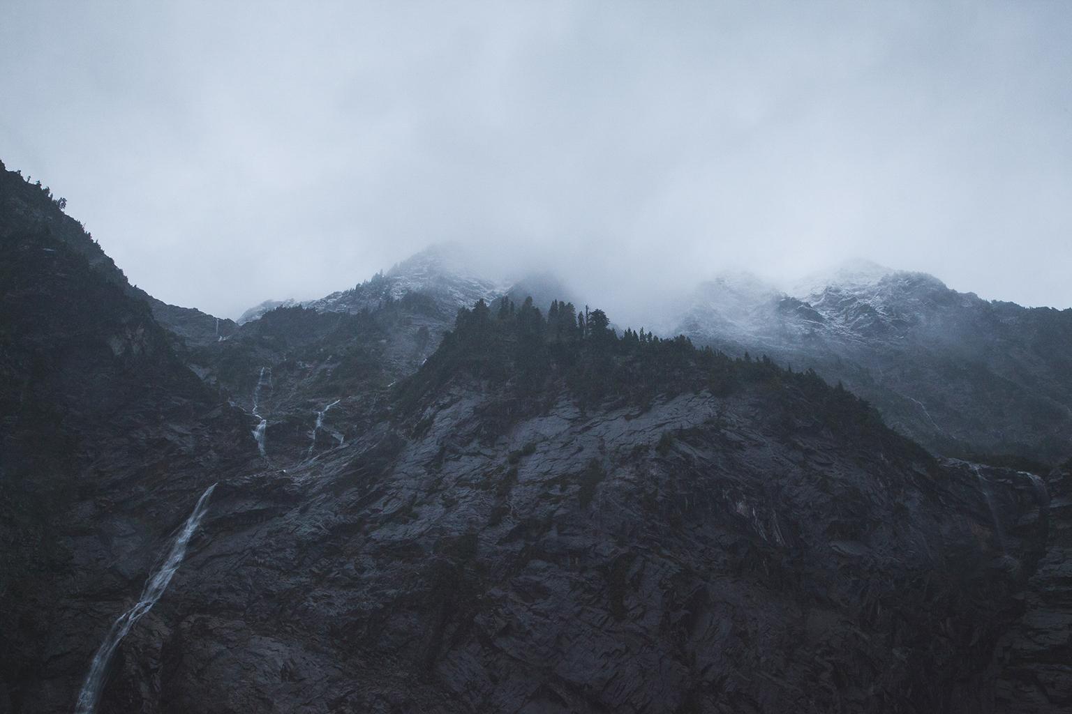 Big Four Ice Caves Washington