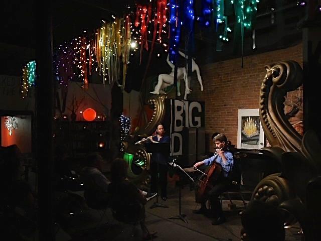 "In concert at ""220E"" in Cedar Falls, Iowa - Cedar Valley Chamber Music Festival 2014."