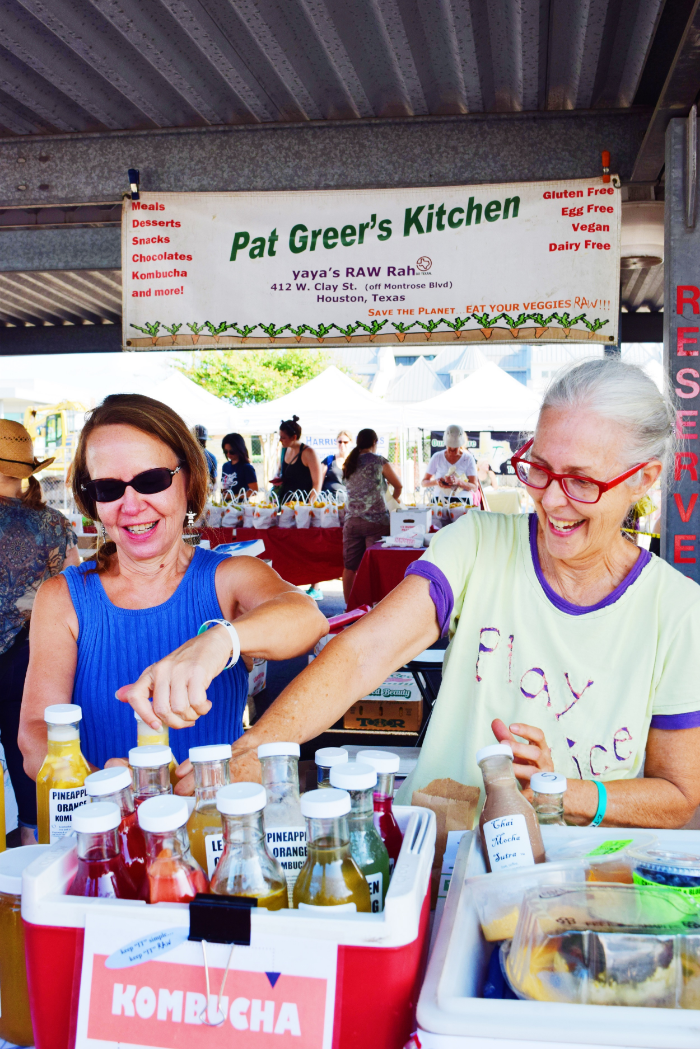The best kombucha in town from  Pat Greer's Kitchen !