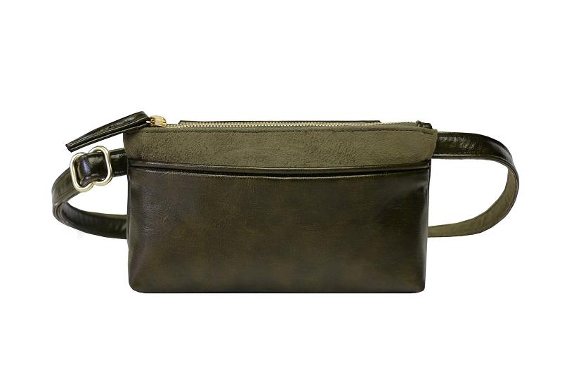 Pocket Bum Bag in Olive
