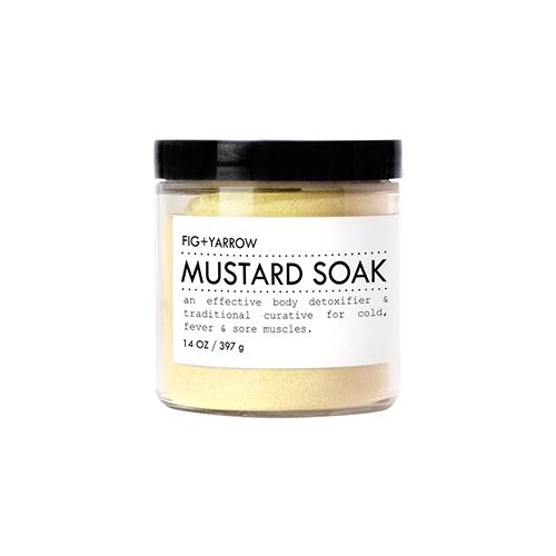 Mustard Soak