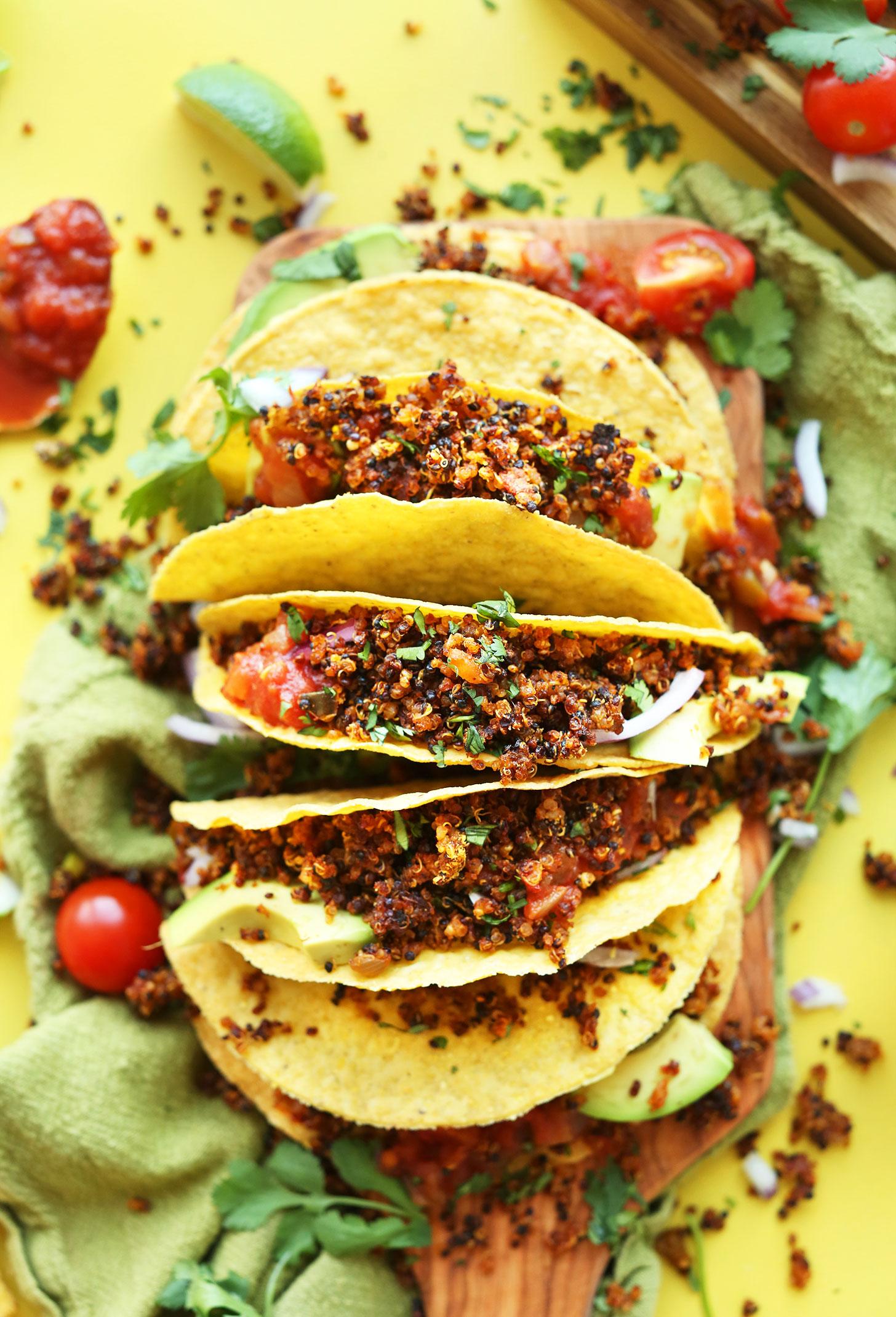Quinoa Taco Meat