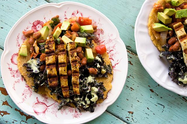 Curry Tofu Tacos