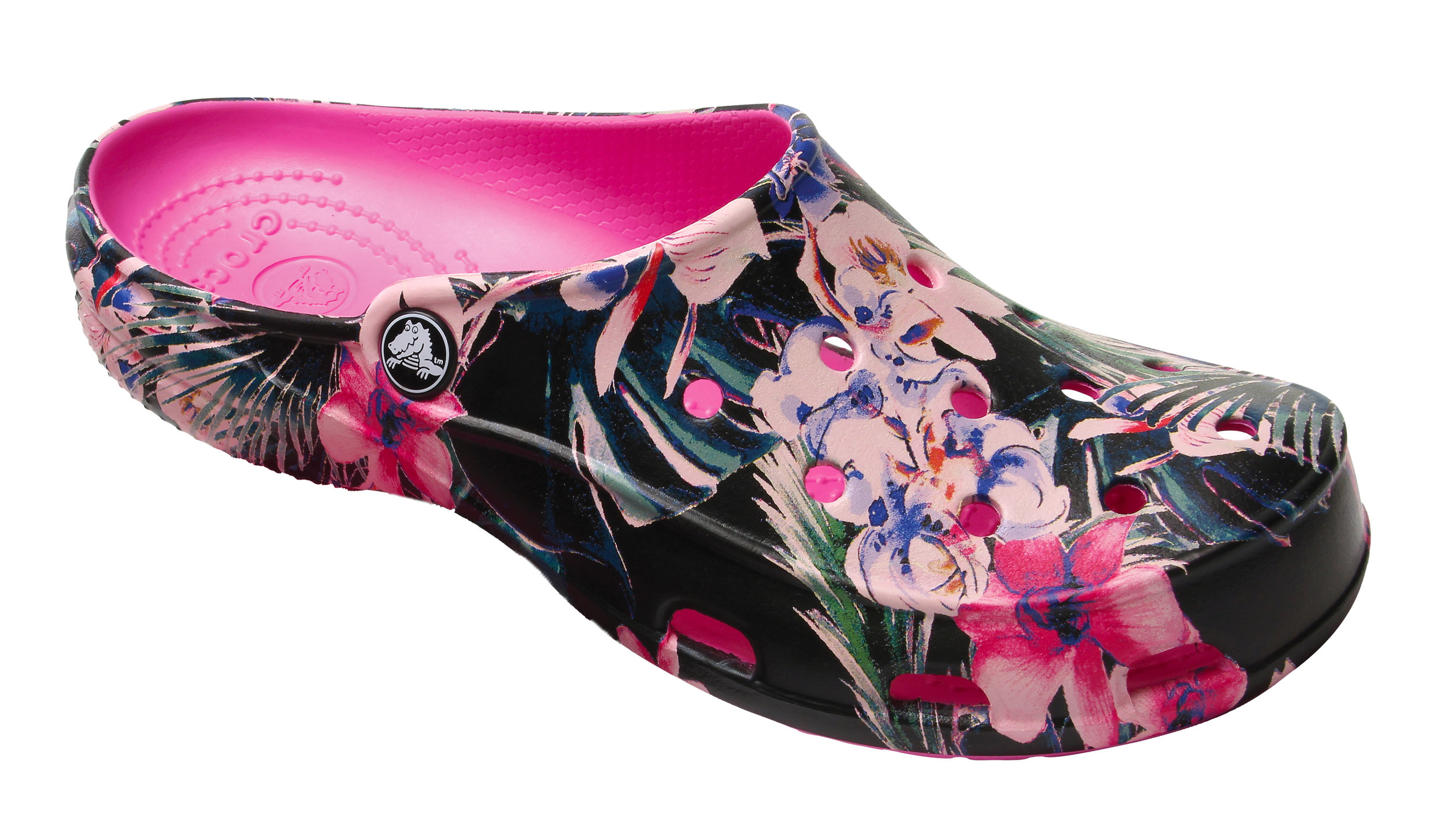 The Freesail Graphic Clog in Tropical
