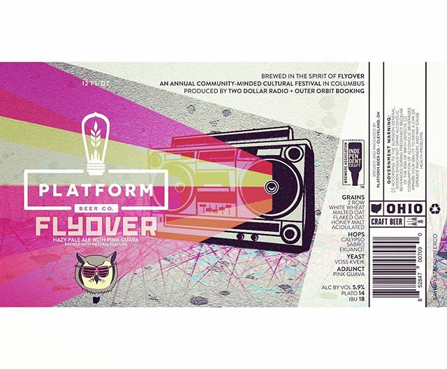 PKGING #craftbeer #graphicdesign #cleveland #flyover #columbusohio #labeldesign