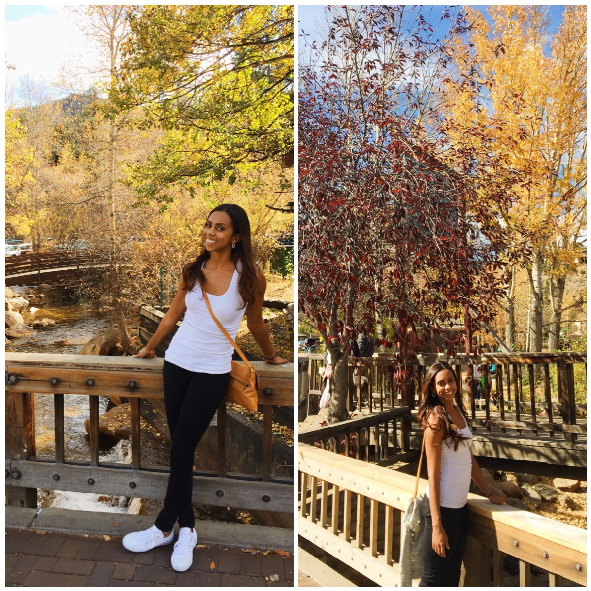 Clearly a California girl. Every time I saw some pretty leaves I wanted to take a picture in front of it.