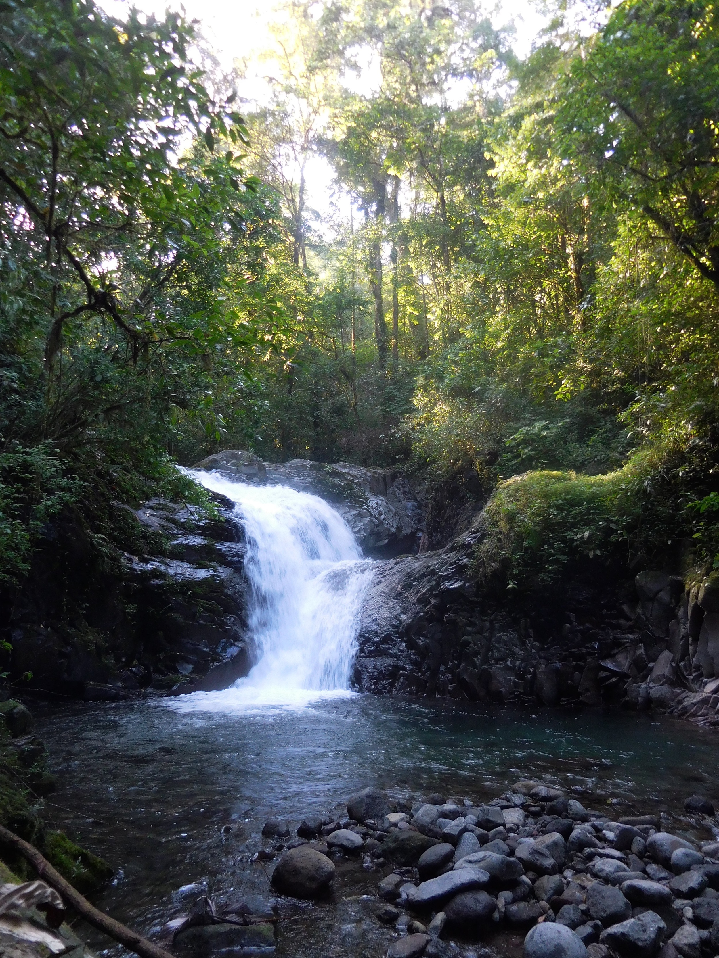 Visit to a private waterfall in Costa Rica.