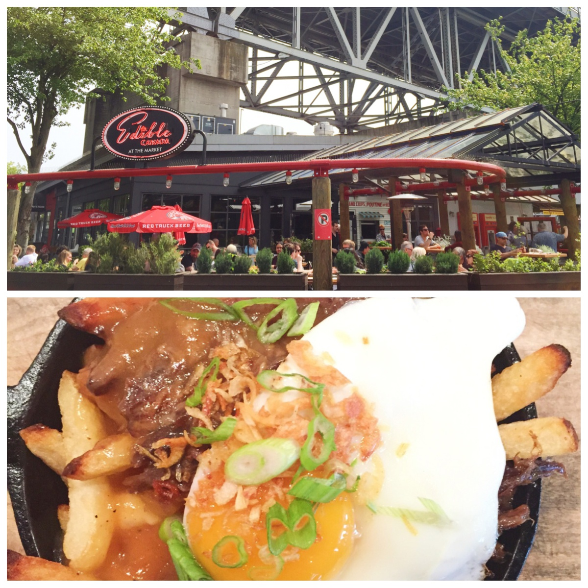 Best place for lunch in vancouver: Edible Canada