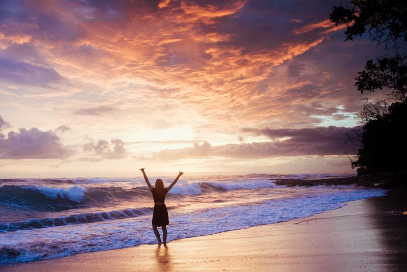 Most Romantic beach in Costa Rica